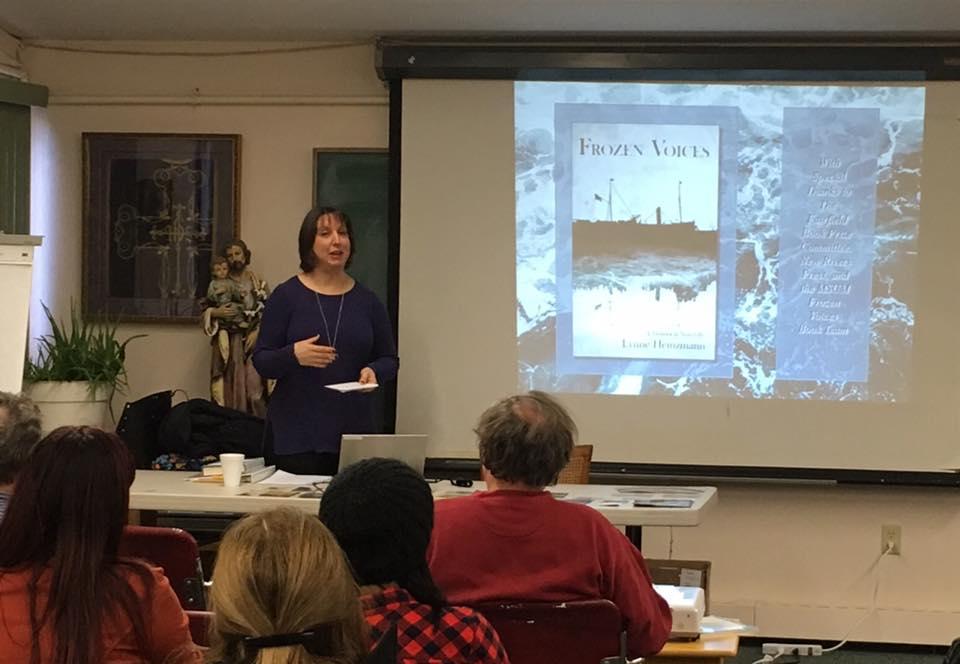 Book Presentation/Signing for FUMFA Program @ Enders Island, December 30, 2016