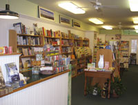 Cozy and adorable Island Bound Bookstore