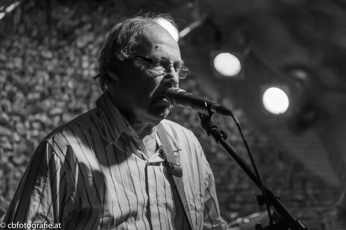 Dave Kelly (Blues Band), Gary Fletcher, Pick Withers (Dire Straits), Zoot Money (Eric Burdon), Pete Emery; British Blues Allstars, Rockhaus Salzburg