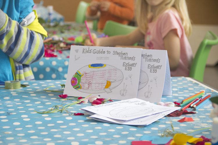 Kids' Guide to Stephen Turner's Exbury Egg, Gunwharf Quay, Portsmouth, June 2017