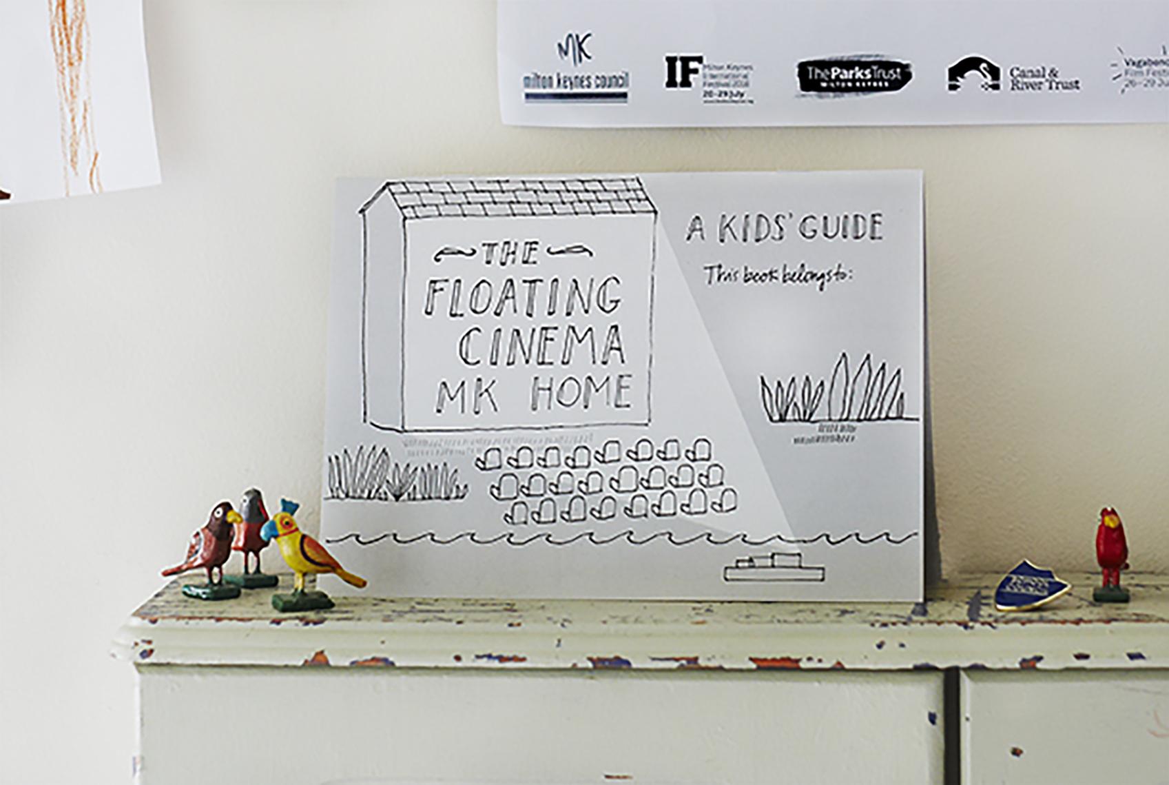 Kids' Guide to The Floating Cinema Milton Keynes: HOME; Milton Keynes, Summer 2018