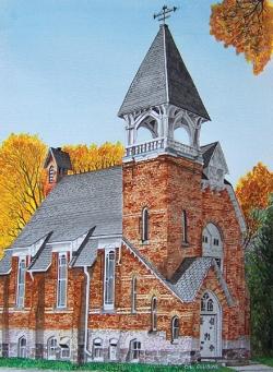 Unionville Presbyterian Church  by David Clubine