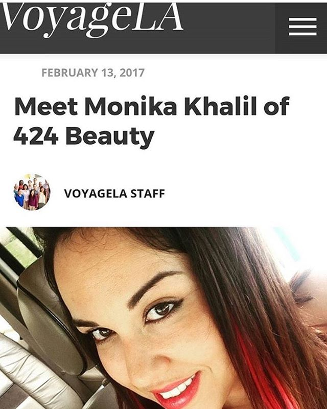 So excited to see this article . @voyagelamag, an  LA based online magazine featured me and my business in this weeks issue . To read the full article click Link in bio