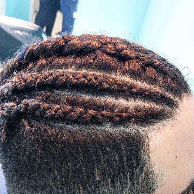Cornrows!! Braid game strong💪🏼💇🏻🙋🏻! #cornrows #braids #braidgame #hair #shorthair #instastyle #instagood #instahair #hairstylist #hermosabeach #manhattanbeach  #redondobeach  #hairbymonika #hairoftheday #losangeles #hairlife #CAHairstylist #thelonghairs