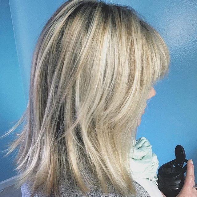 First client of  the day ... done ✅. #glamondemand  #highlights #dimensionalhair  #blonde  #blondehair #hermosabeach #manhattanbeach  #redondobeach  #torrance #hairbymonika #hairoftheday #losangeles #hairlife  #hair  #sunkissed  #hairstylist  #424beauty