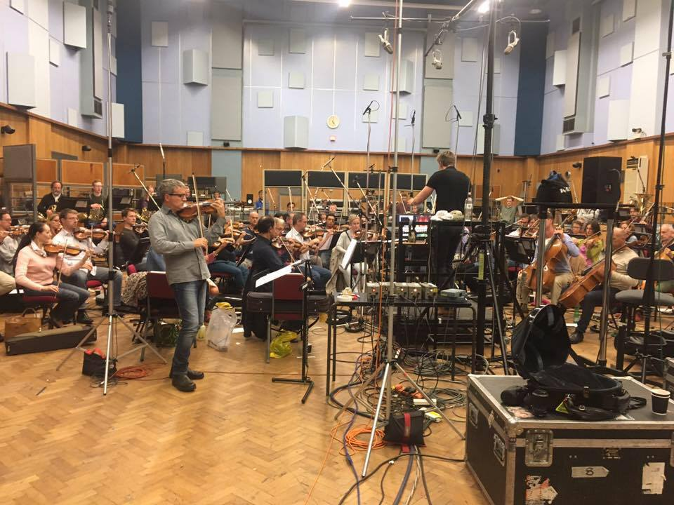 Great recording of my Violin Concerto by the London Symphony Orchestra with Francesco D'Orazio as soloist and Lee Reynolds as conductor.