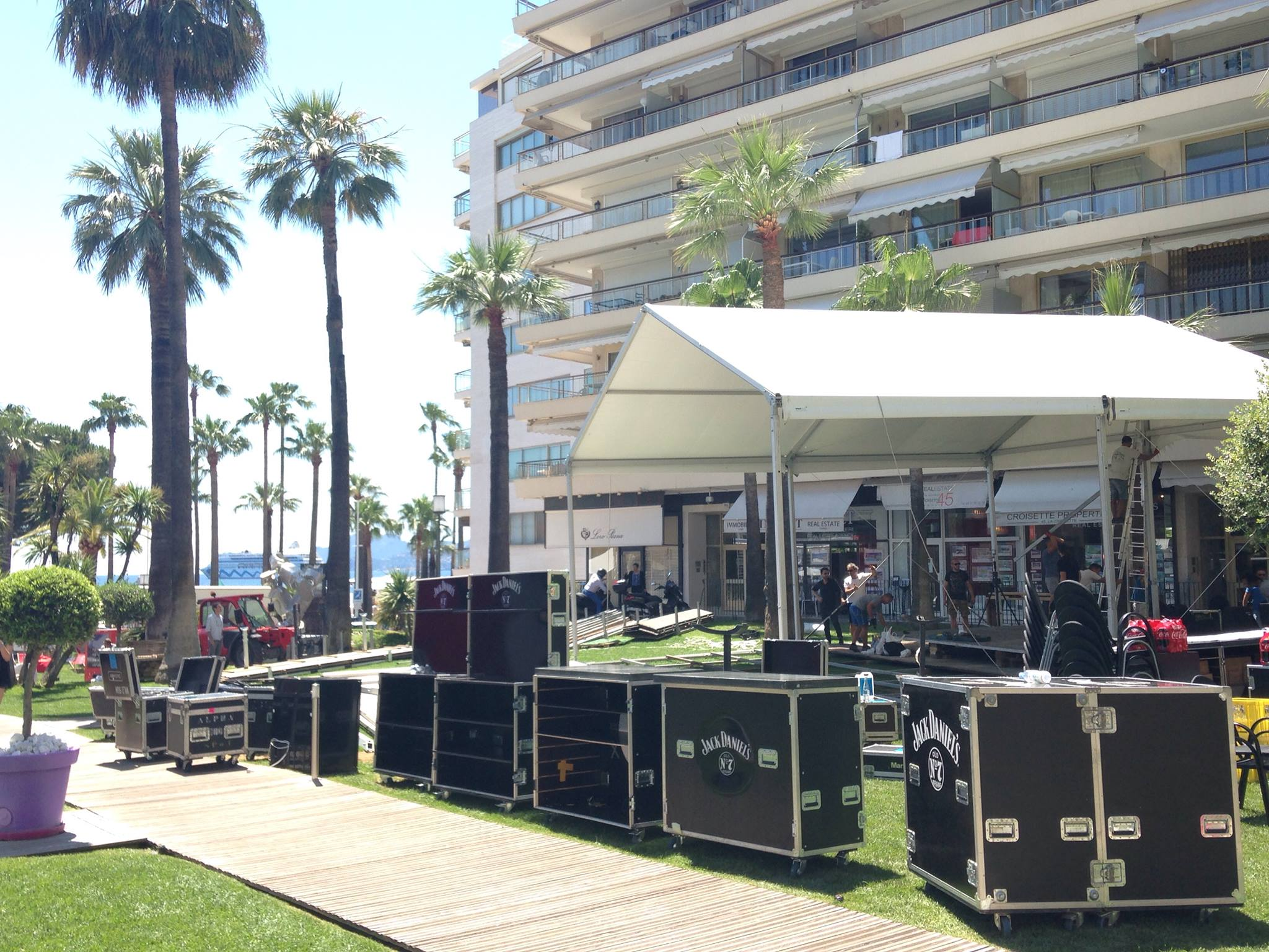 Music Producer and Guest DJ for Lion Award event in Cannes, France for client Jack Daniels.