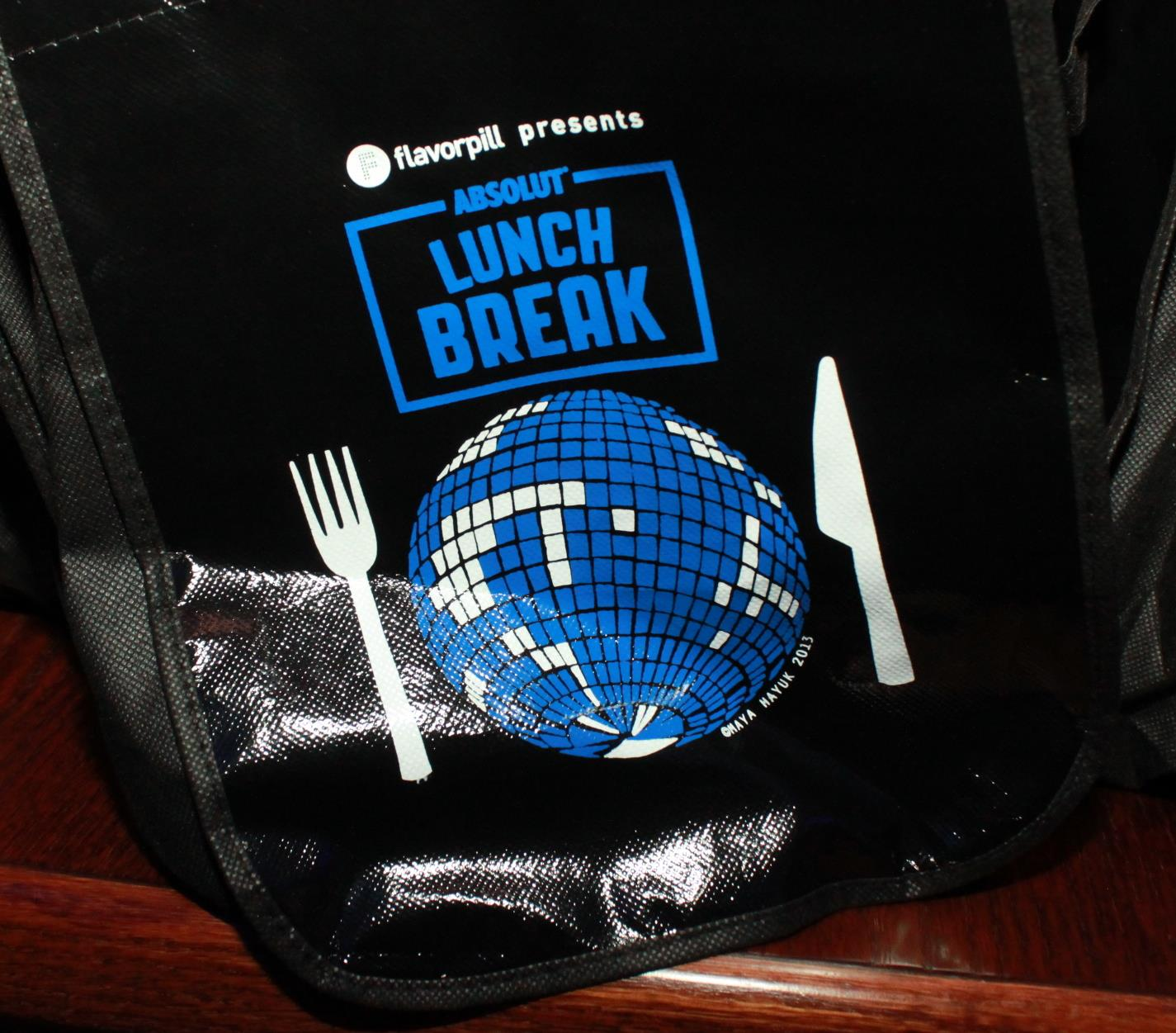 Producer and Co-Curator (with Questlove) for clients, Absolut and Flavorpill's Lunchbreak series Chicago. Free bagged lunches for all!