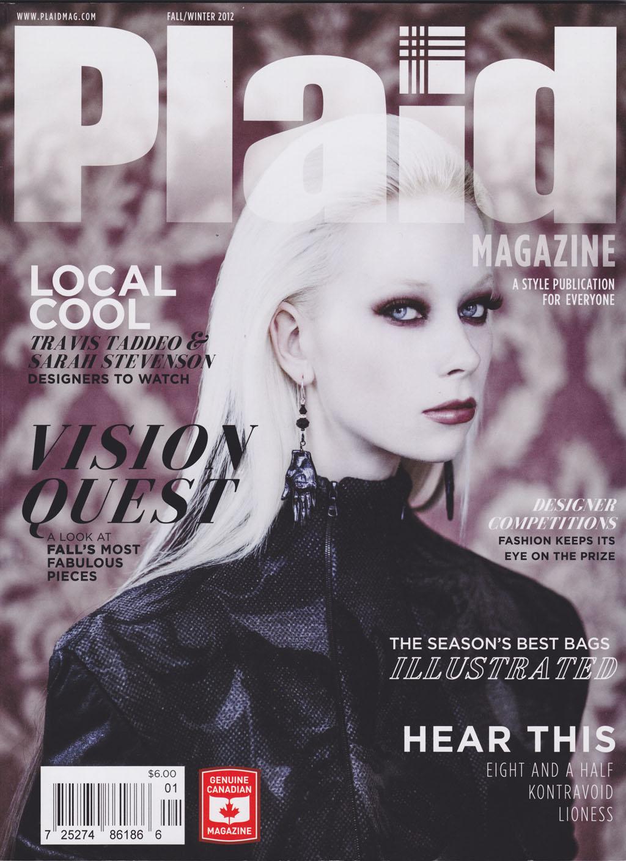 Plaid magazine - FW2012  Finch Skirt