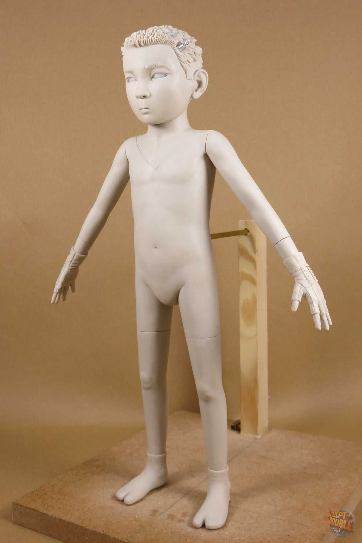 Atari - full body puppet sculpt