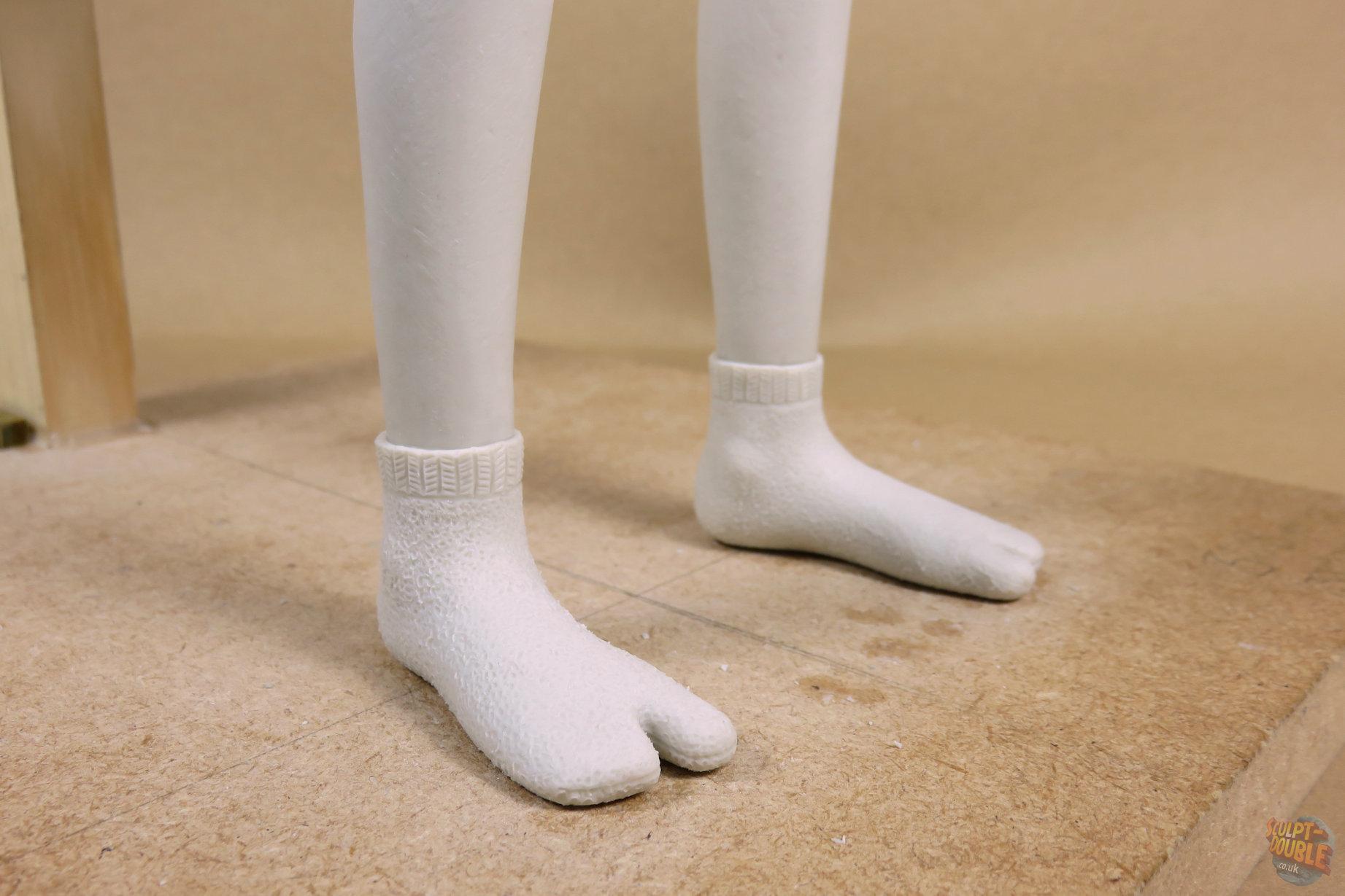 Atari - foot sculpt