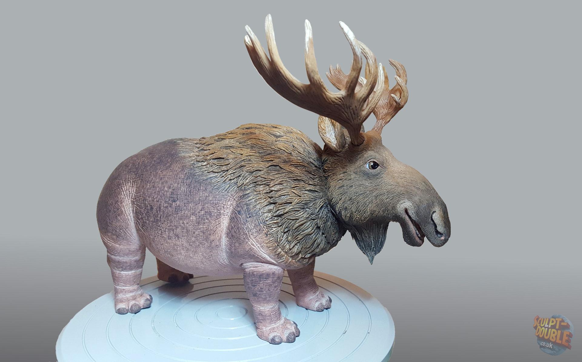 Finished Hippopotamoose puppet.  by Joshua Flynn