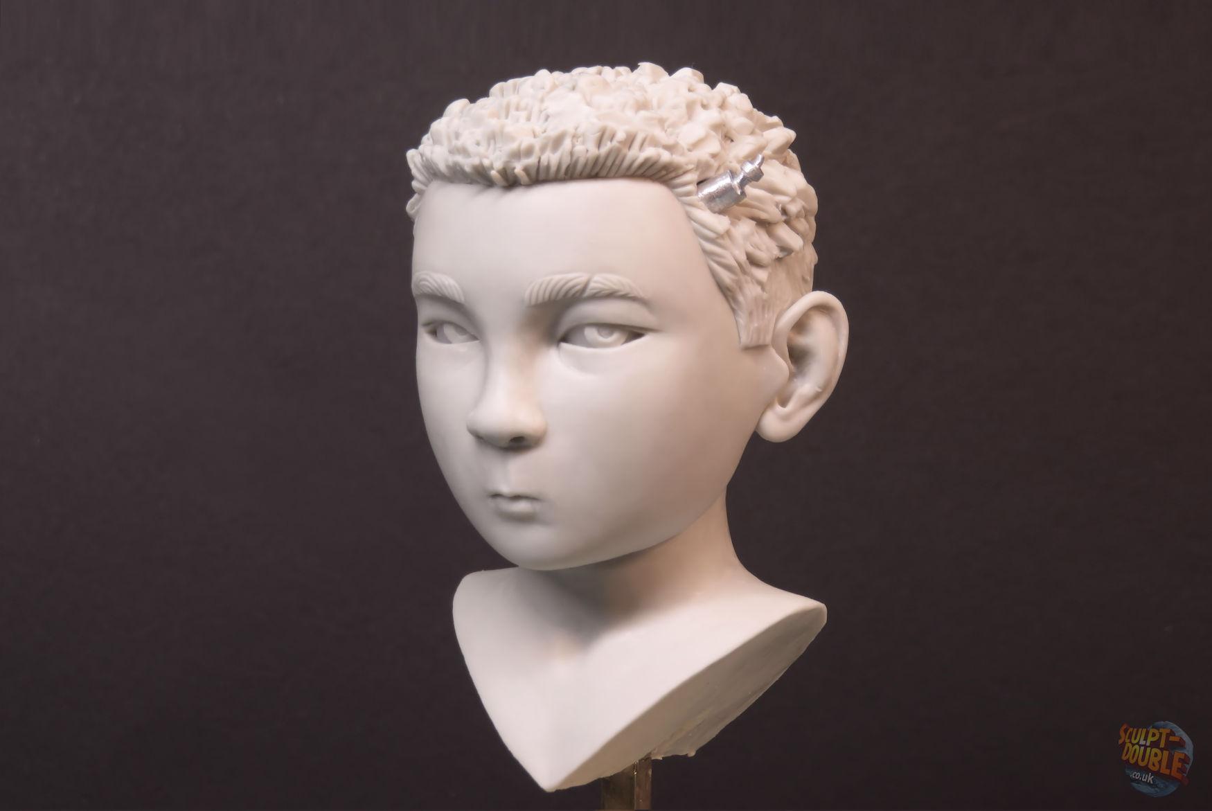 Atari - Hero head sculpt