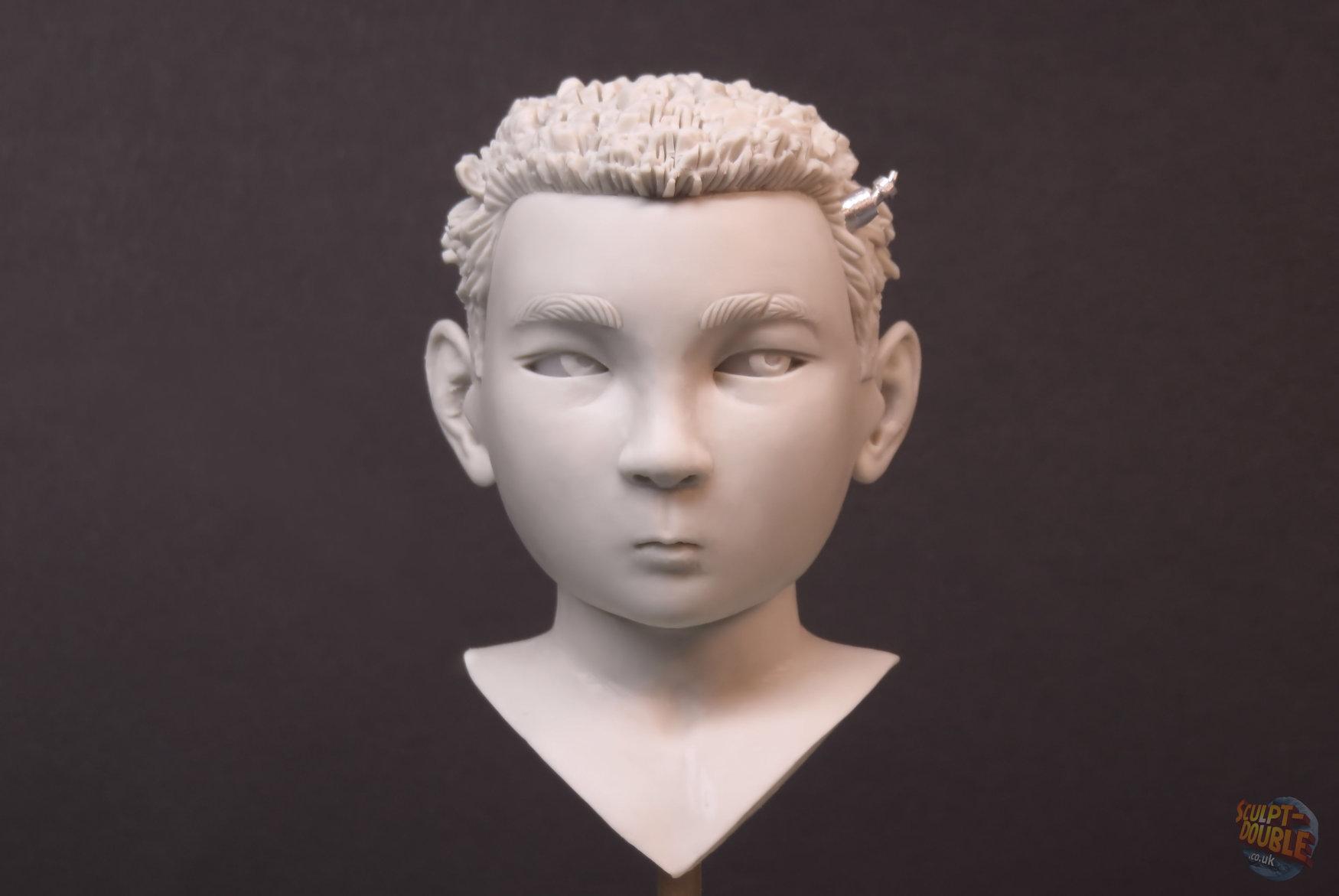Atari -Hero head sculpt