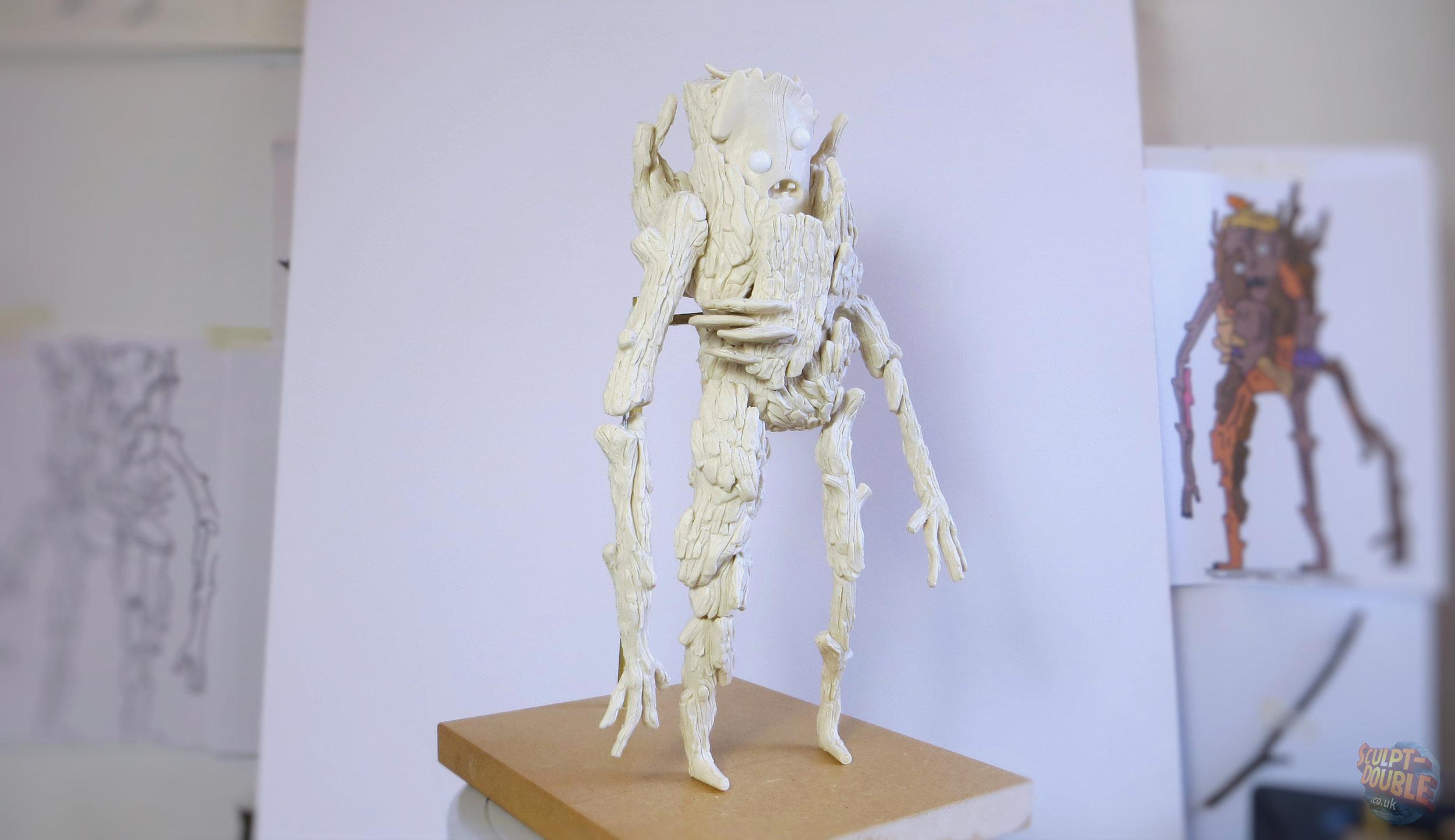 Stick Person Clay Sculpt