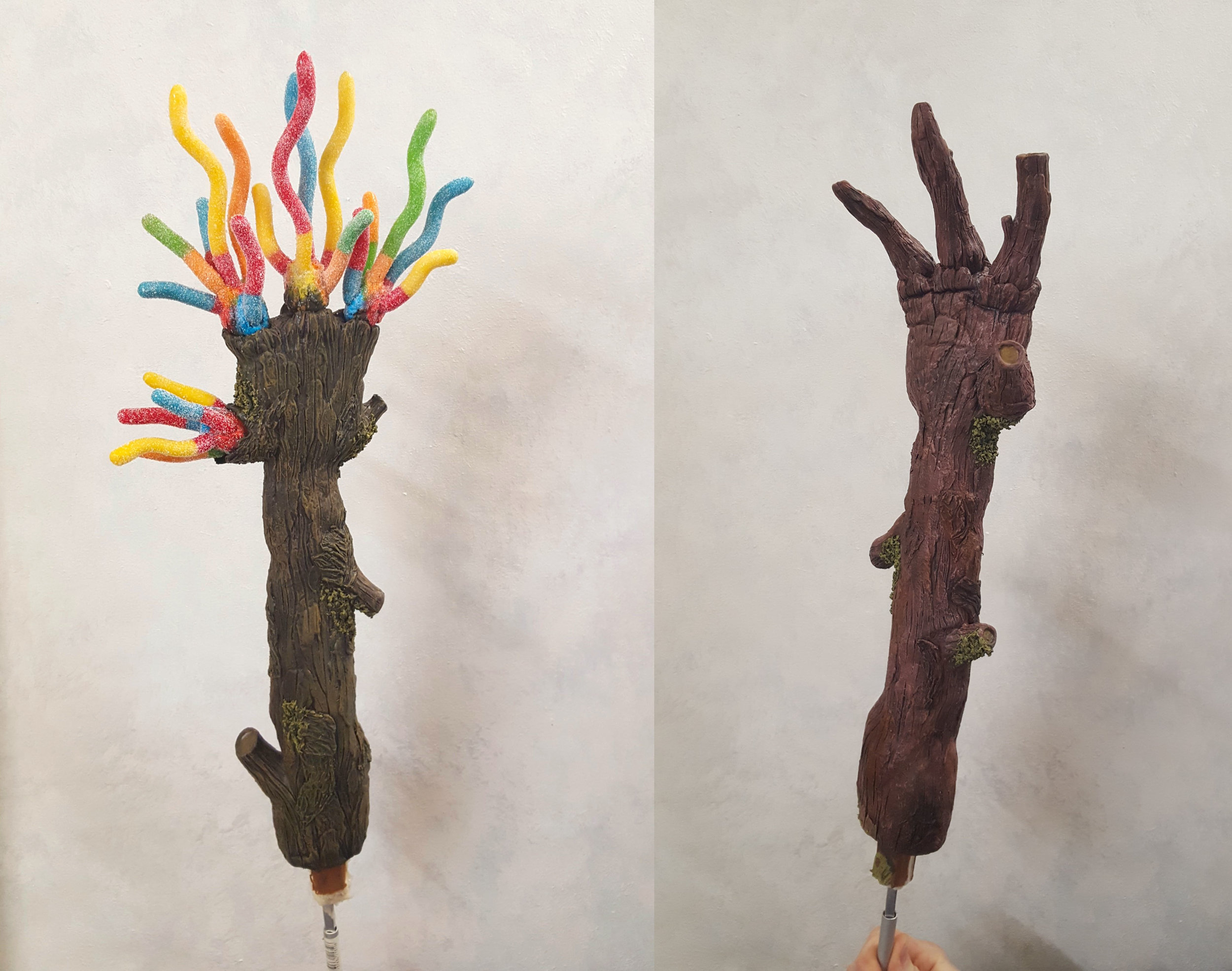 Lare Scale Stick Hand Puppets