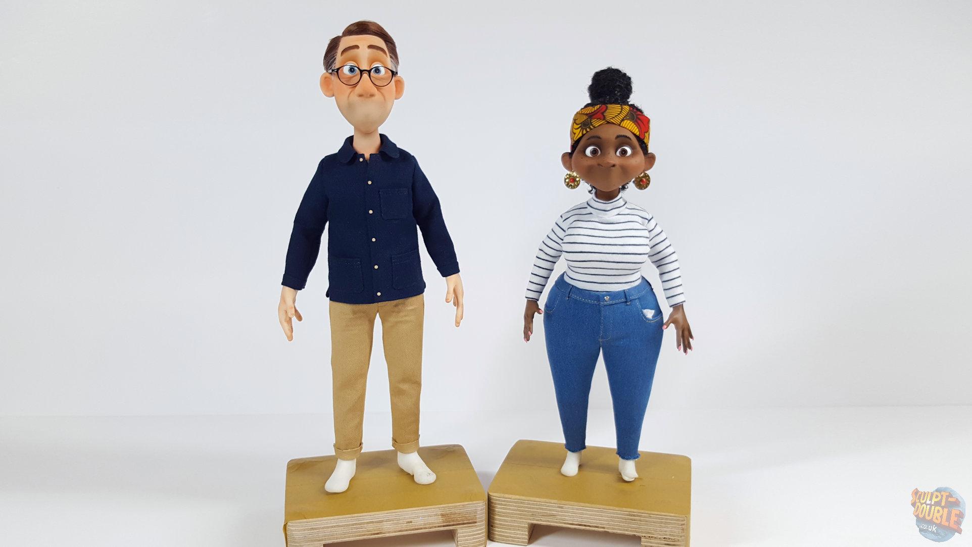 Tony & Judy Puppets