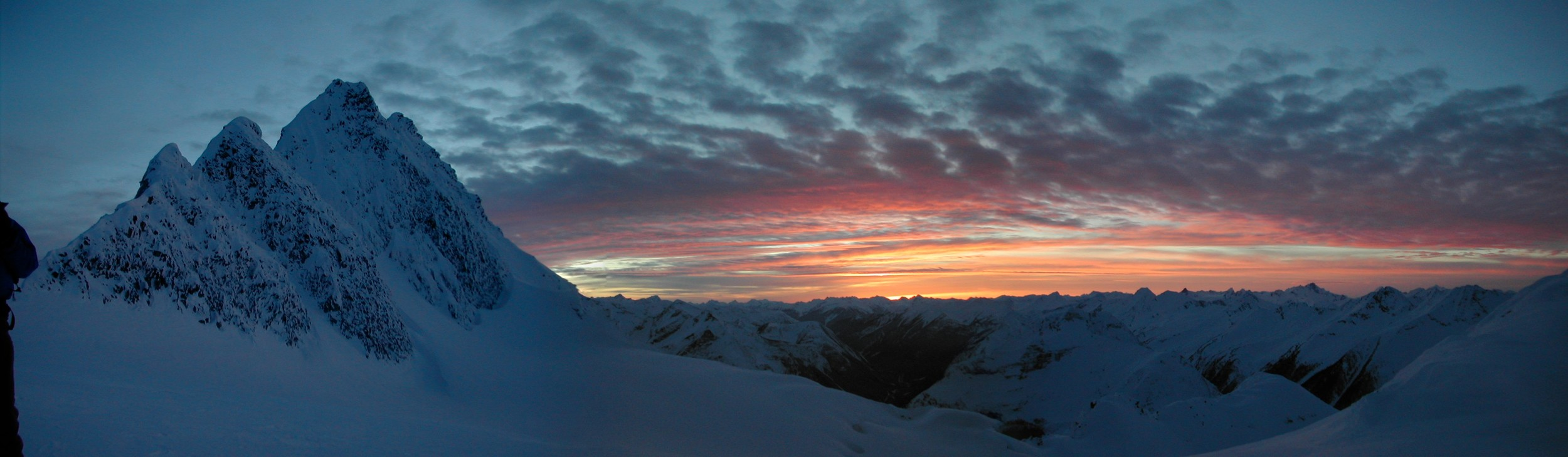 Last Run: Avalanche Mountain and North Glacier