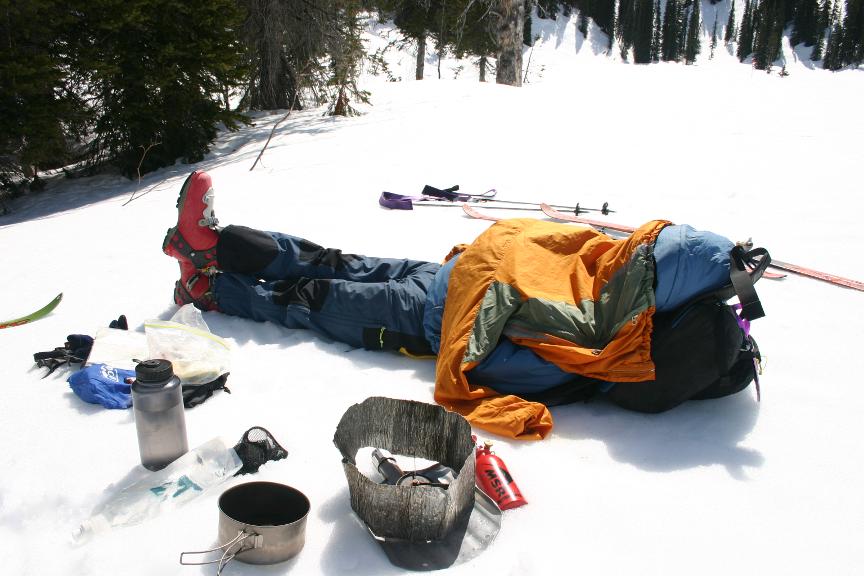 Break time in Crystalline Creek | IMAGE ©Troy Jungen