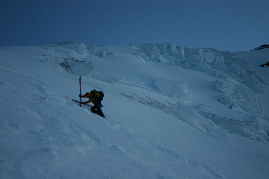 Taking a break from skiing | IMAGE ©Troy Jungen