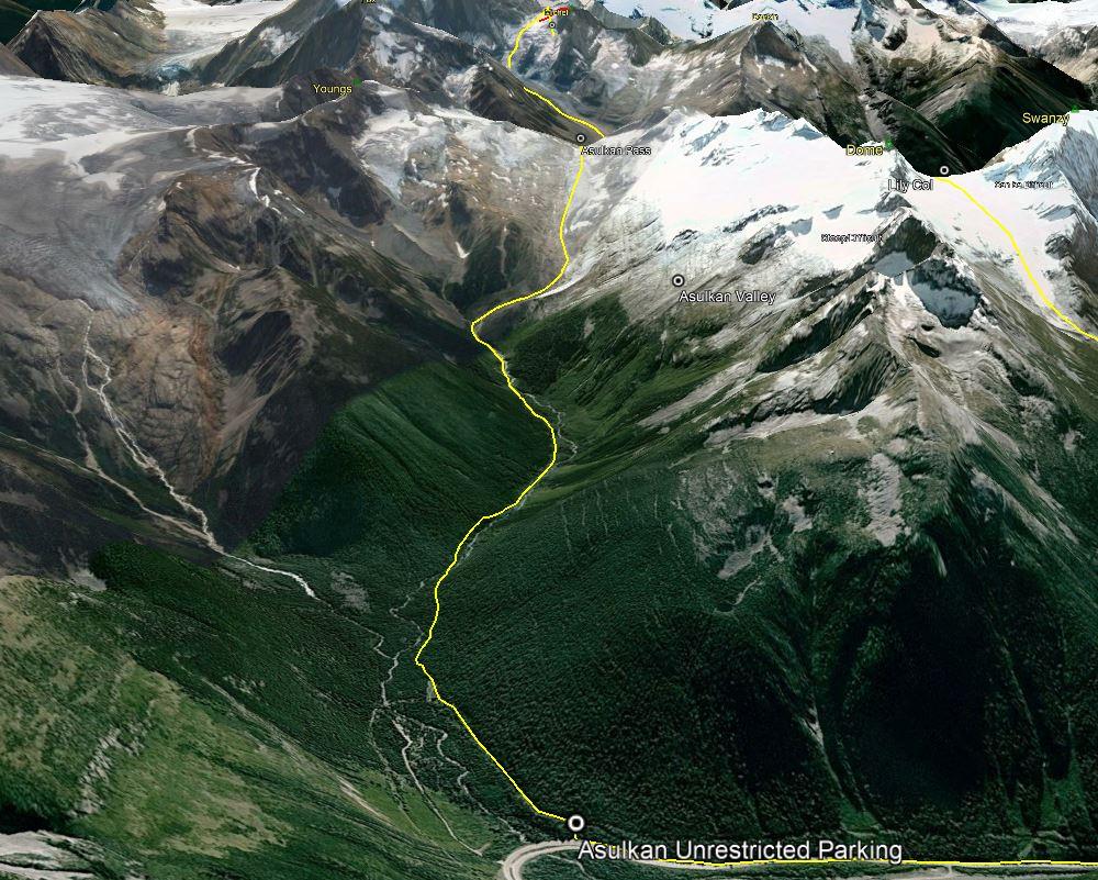 The Start - Illecillewaet and Asulkan Valleys