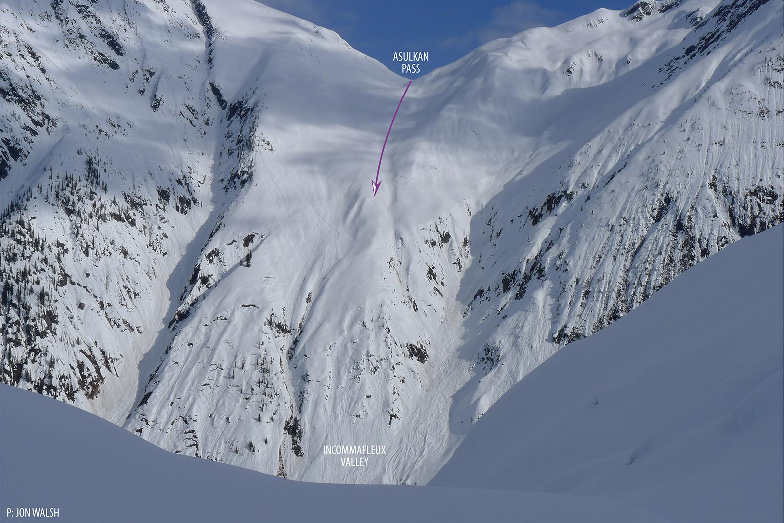 Image taken from near the toe of Dawson Glacier