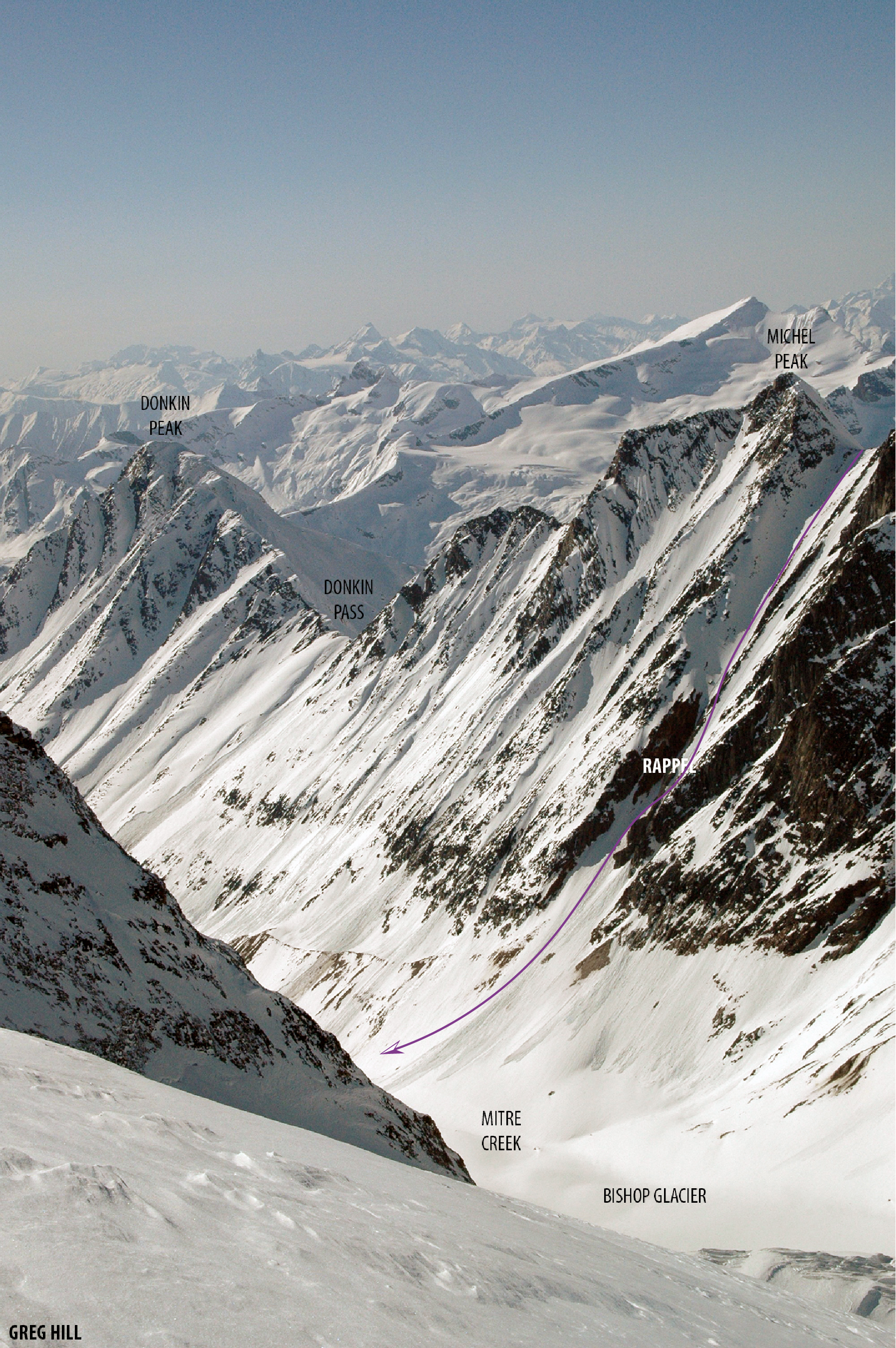 Michel Peak South Couloir