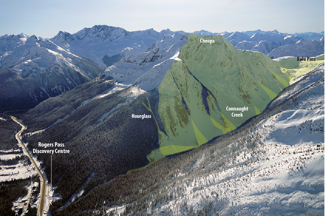 North Face of Cheops Mountain