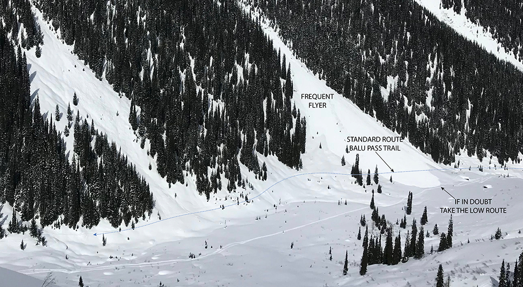 Image Parks Canada - Annotations added by Douglas Sproul