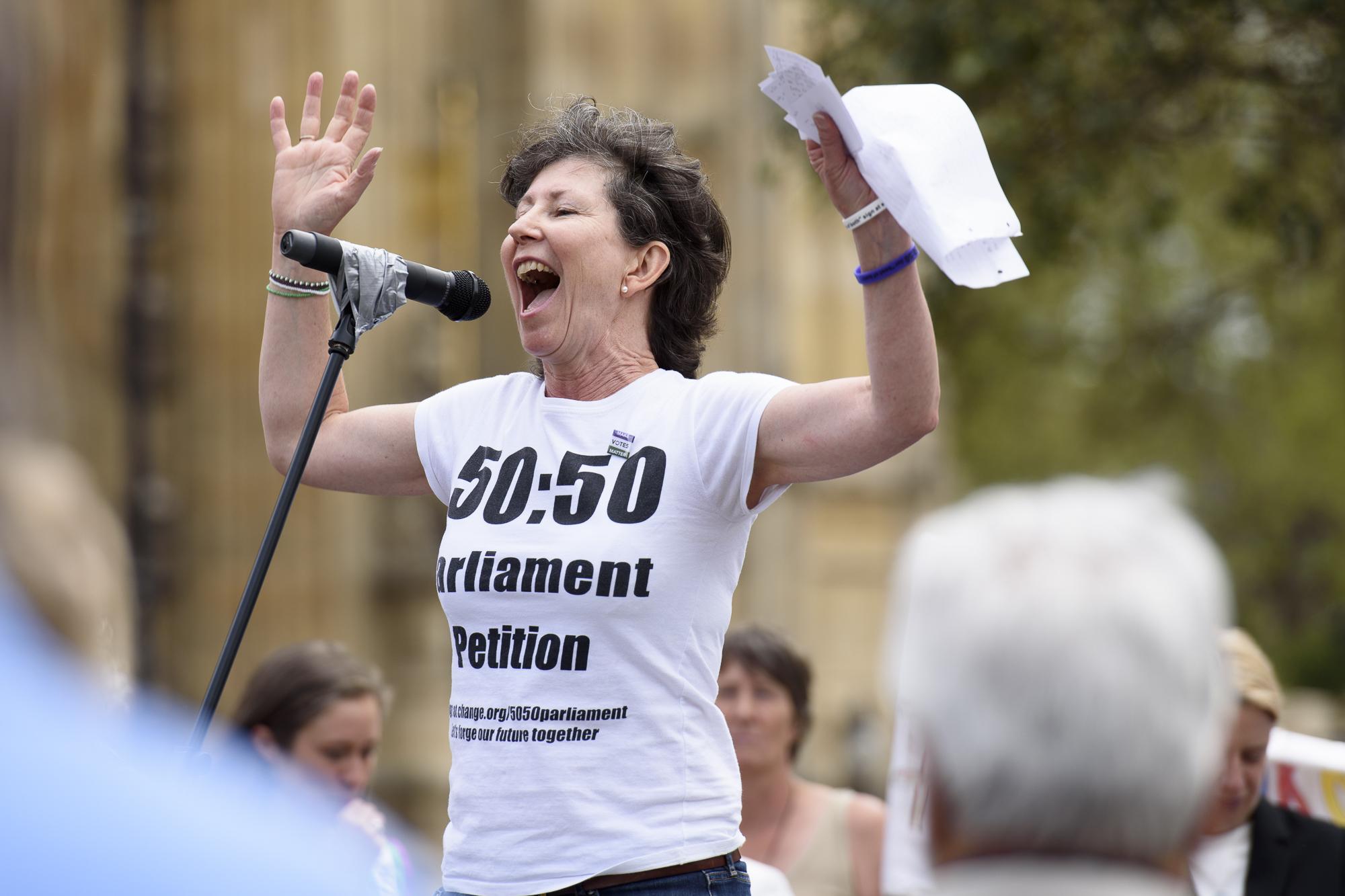 Frances Scott, 50:50 Parliament
