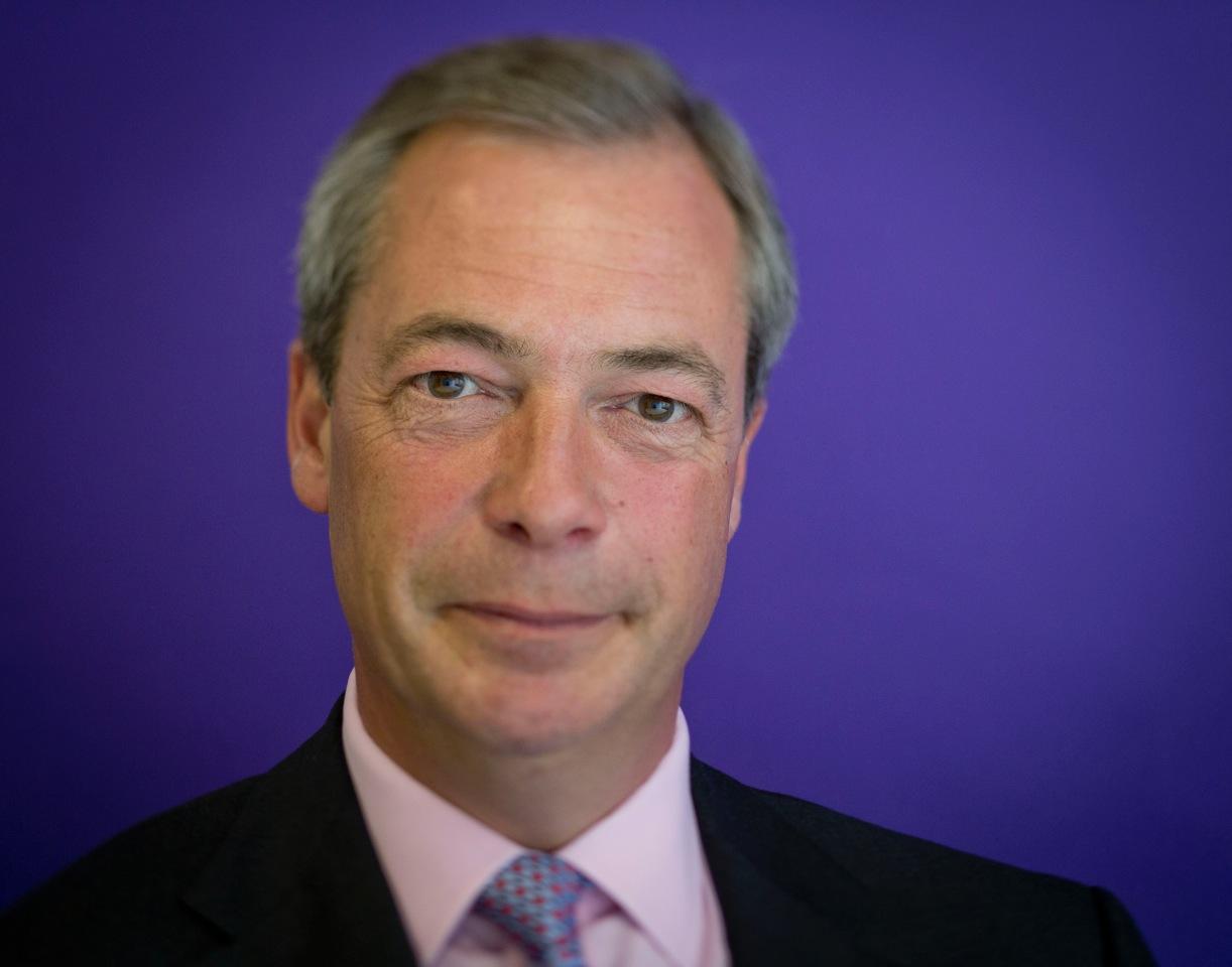 Nigel Farage MEP, UKIP