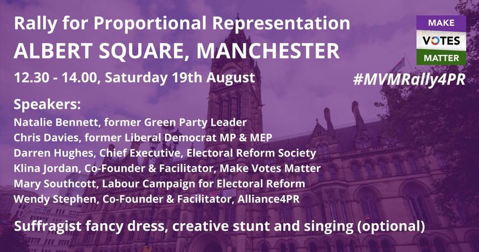 Manchester Rally for Proportional Representation