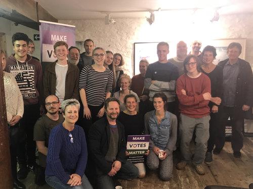MVM Cornwall at one of their regular meetings.