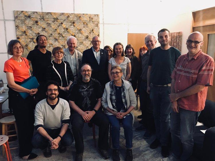 MVM Brighton at a previous meeting.