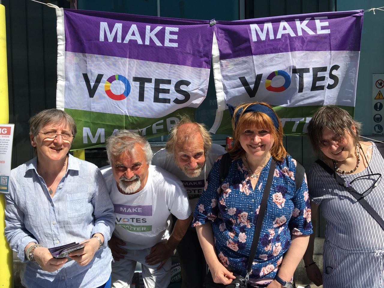The MVM North London Roadshow on Demand Democracy Day.