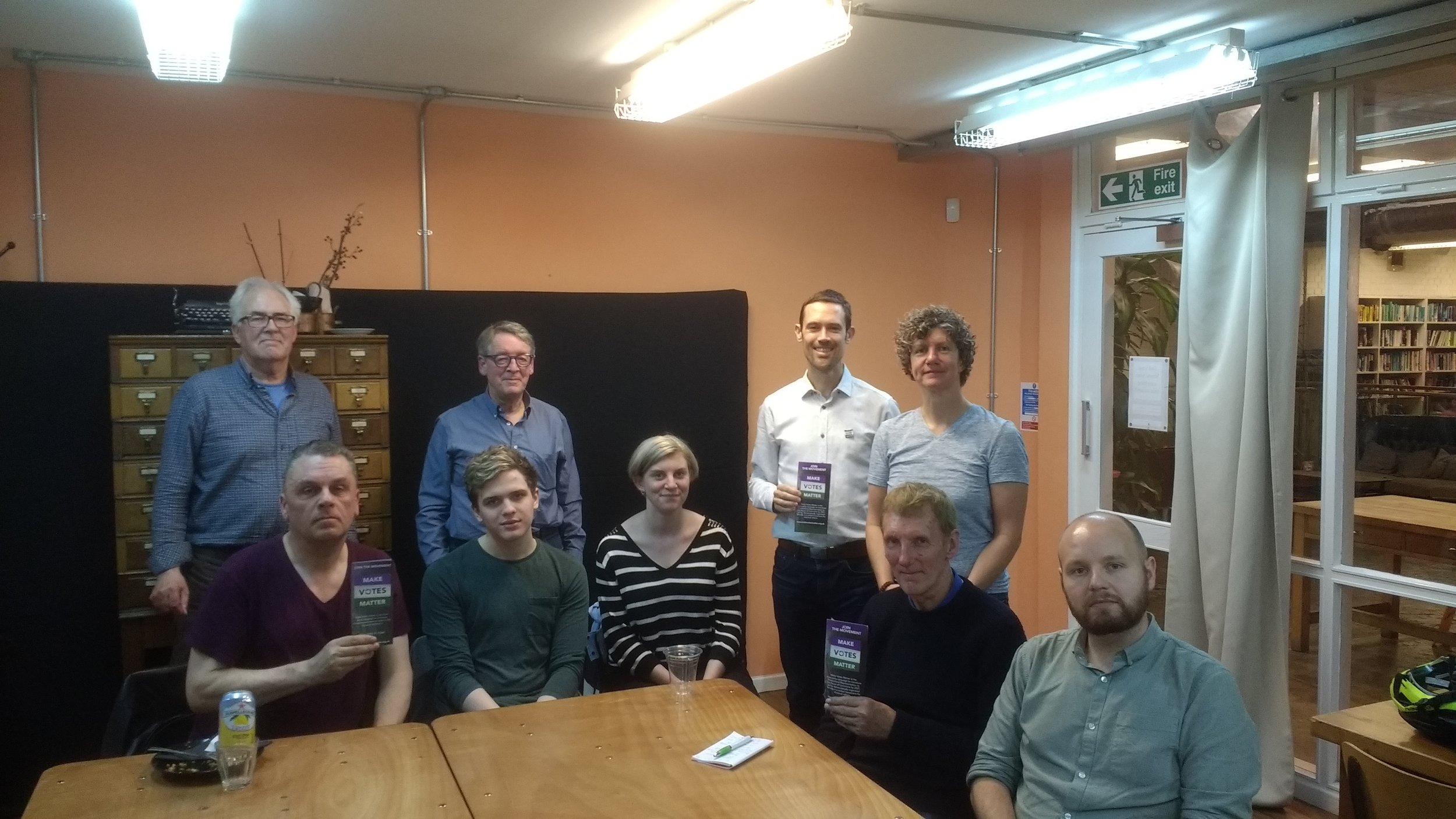 MVM East London at a previous meeting.