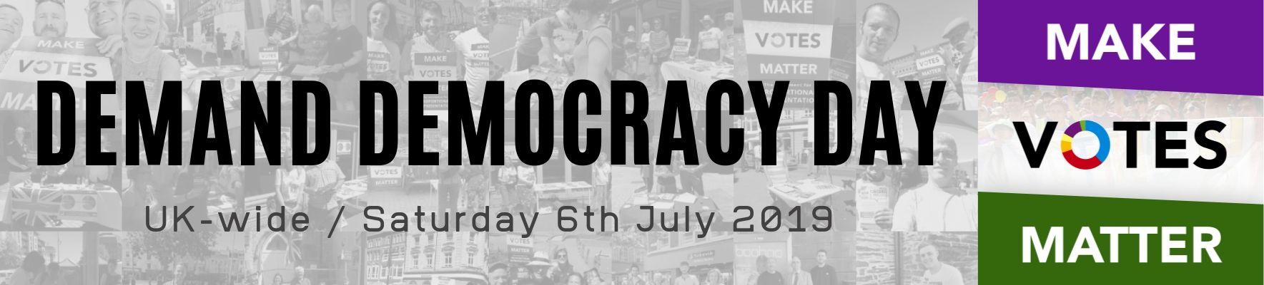 Demand Democracy Day