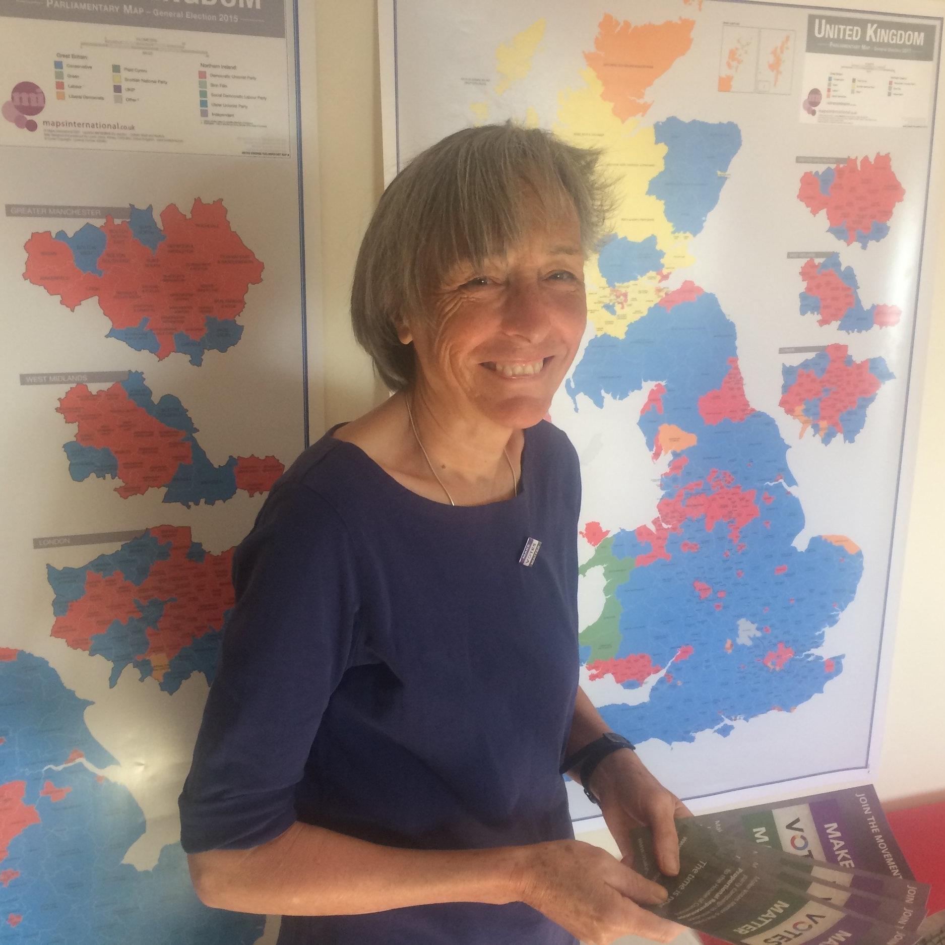MVM volunteer Janet Jones