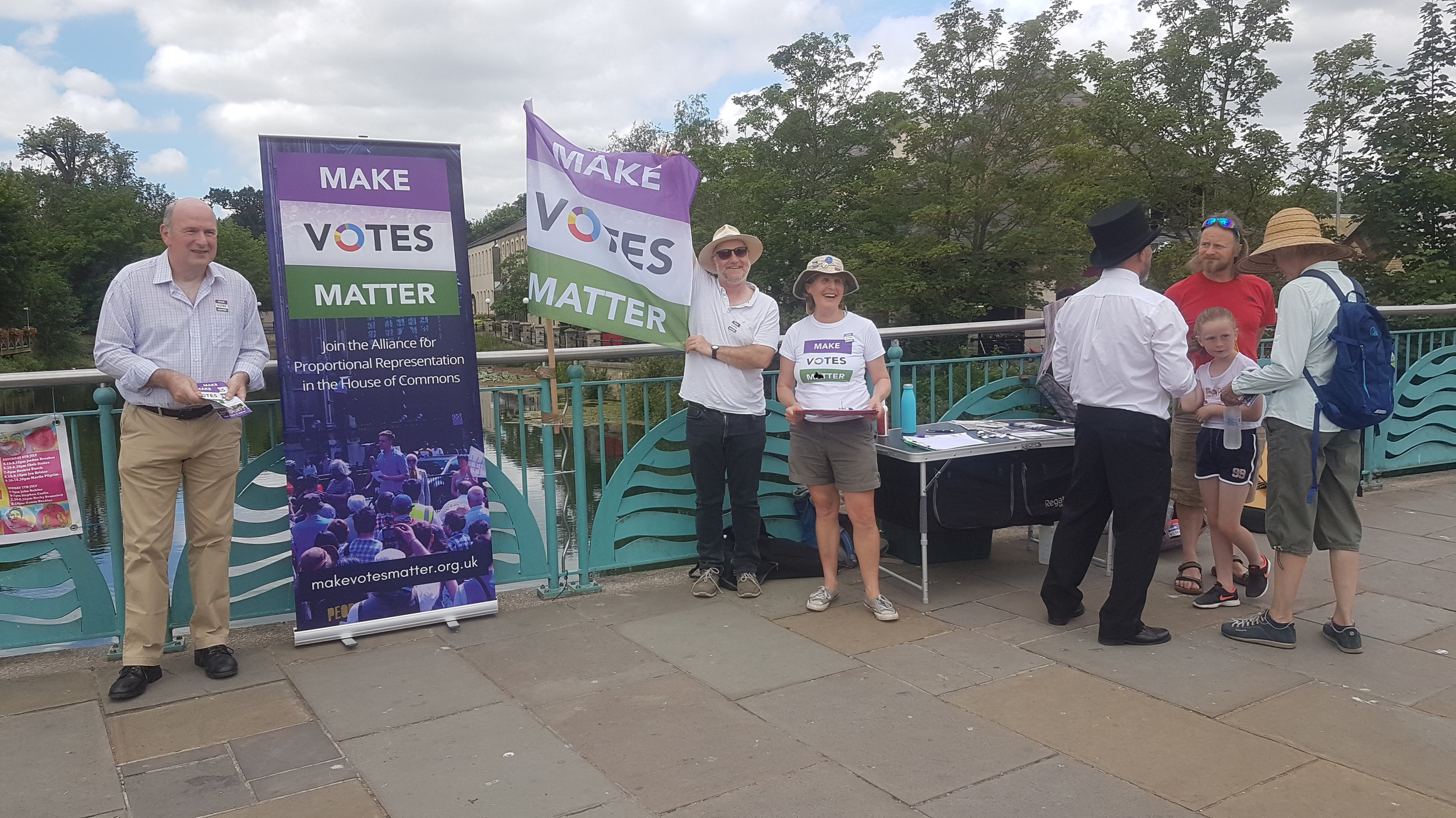 MVM Chippenham on Demand Democracy Day 2019