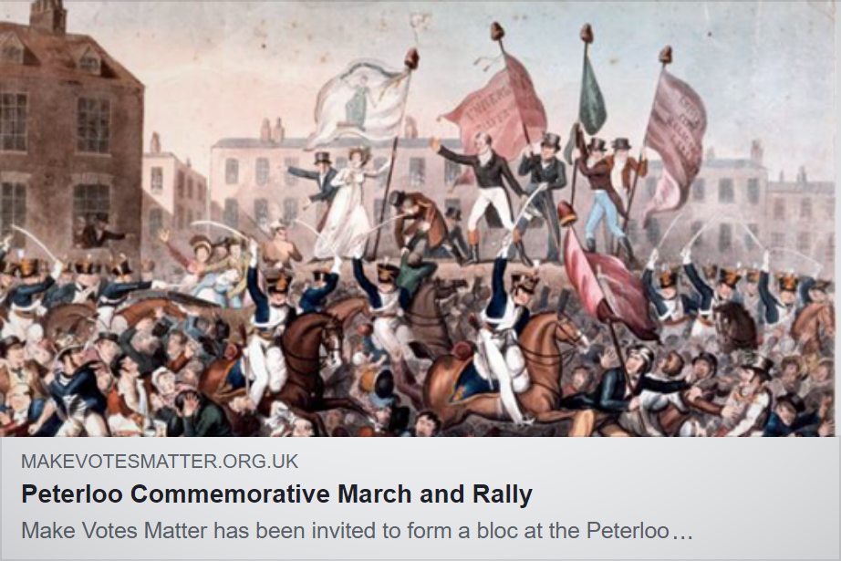 Join our bloc in the  March for Democracy