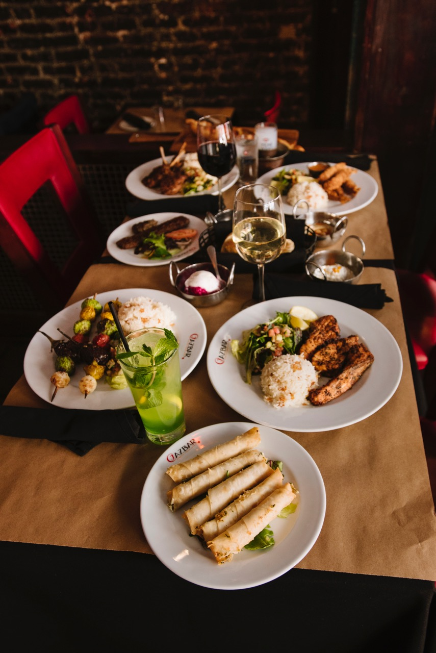 Maryland's finest turkish Cuisine - Cazbar, with locations in Baltimore & Columbia, MD features online ordering, dinner menu, catering menu, and for your convenience, our vegetarian and gluten free menu. At our venues, you can enjoy beautiful belly dance entertainment, and arrange banquets and parties.