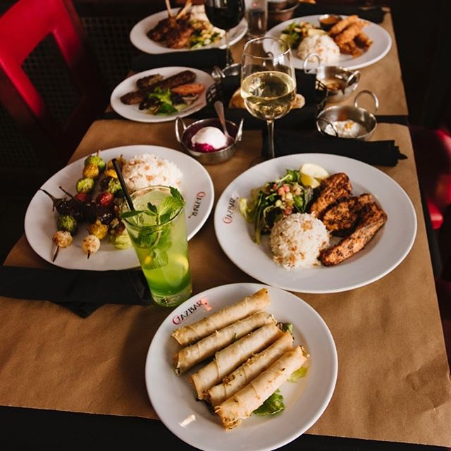 A feast for the eyes and a feast for everyone! #cazbarcolumbia #cazbar Book your party today at either location, or for catering. www.cazbar.pro