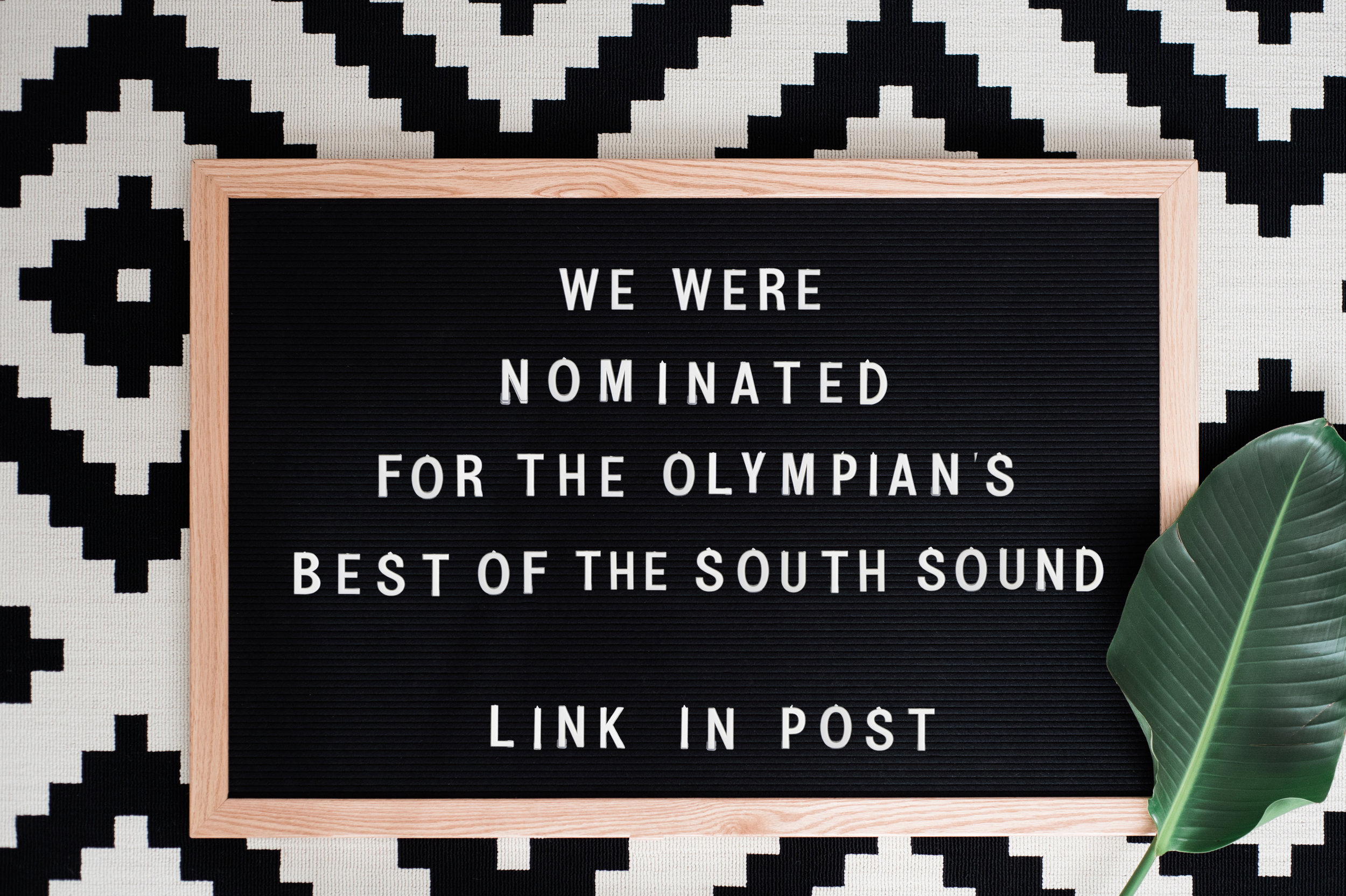 Fashionably Frank Marketing Nominated for The Olympian's Best of the South Sound