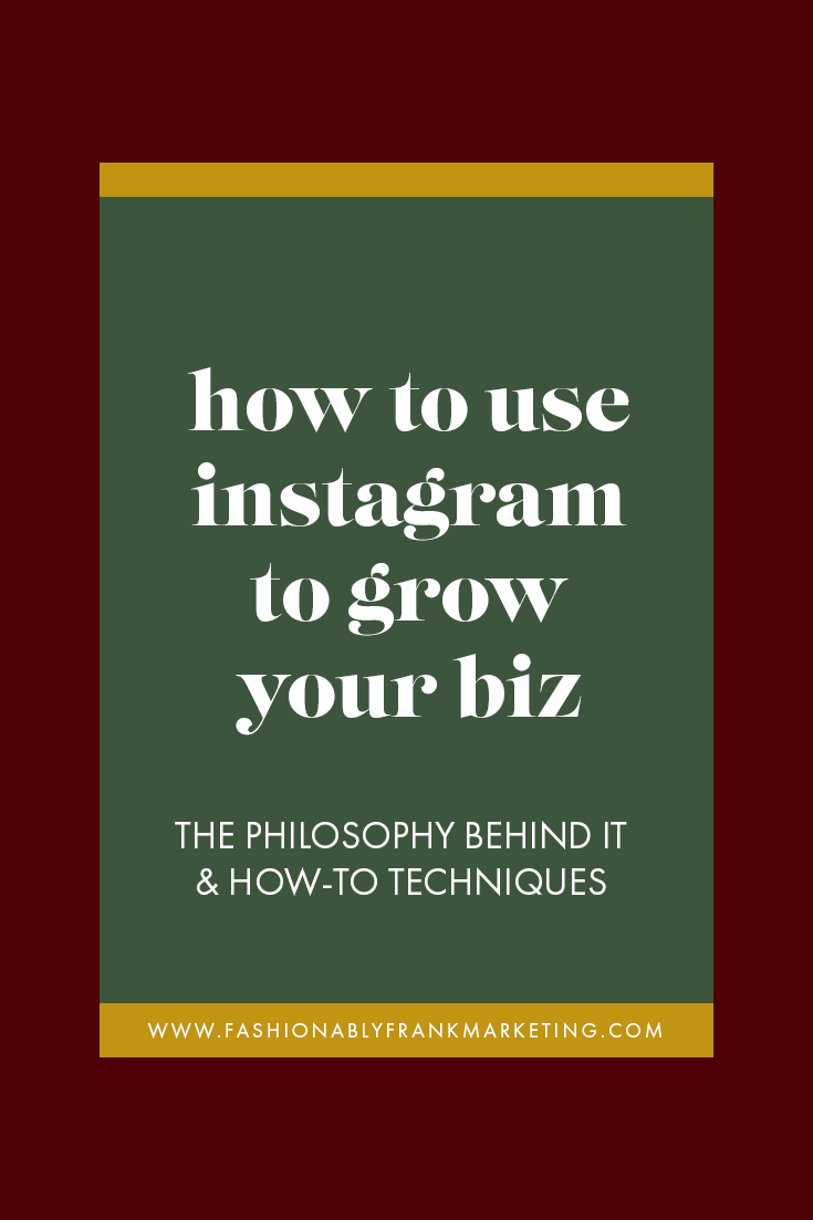 How to Use Instagram to Grow a Business