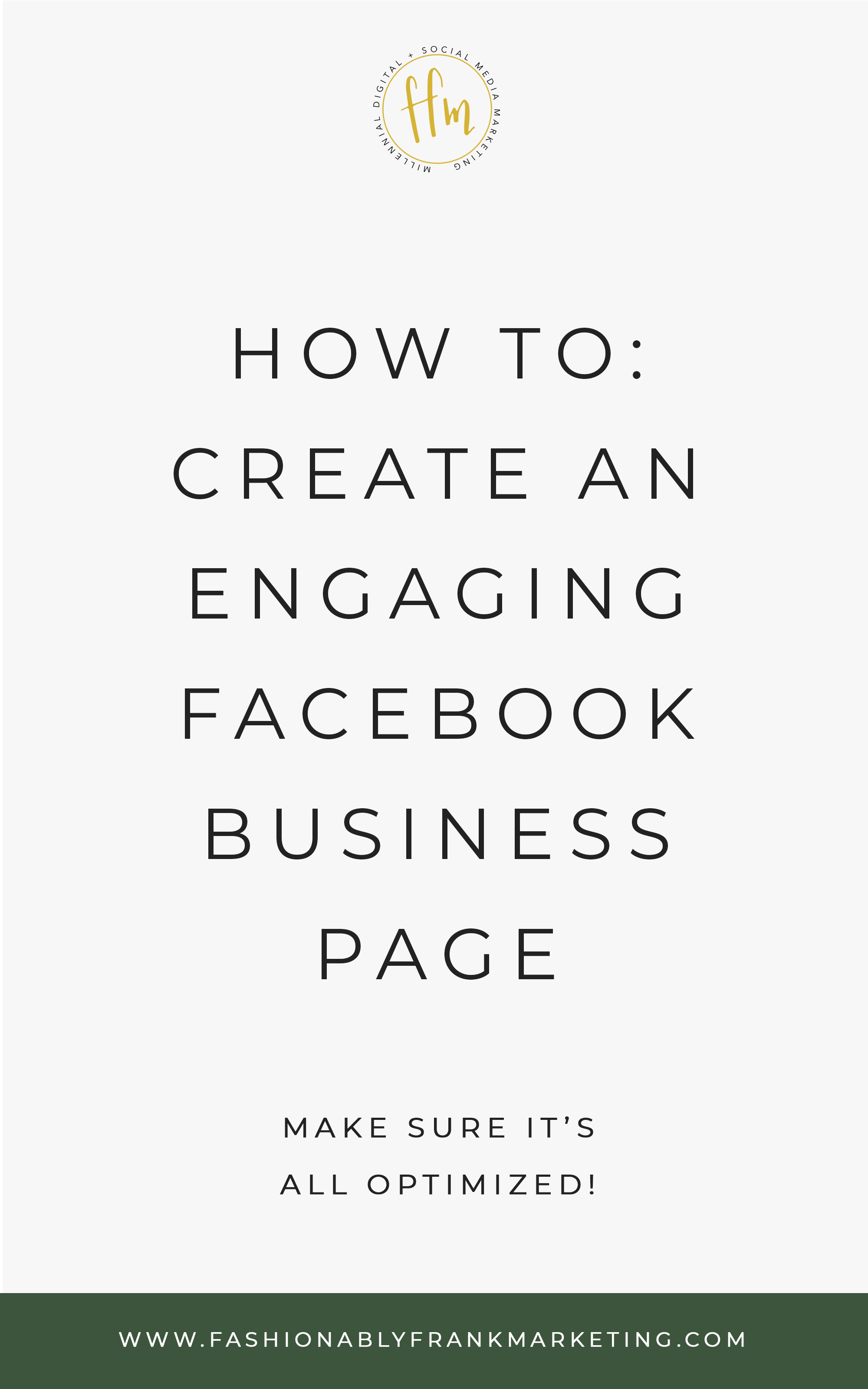 Engaging Facebook Business Page