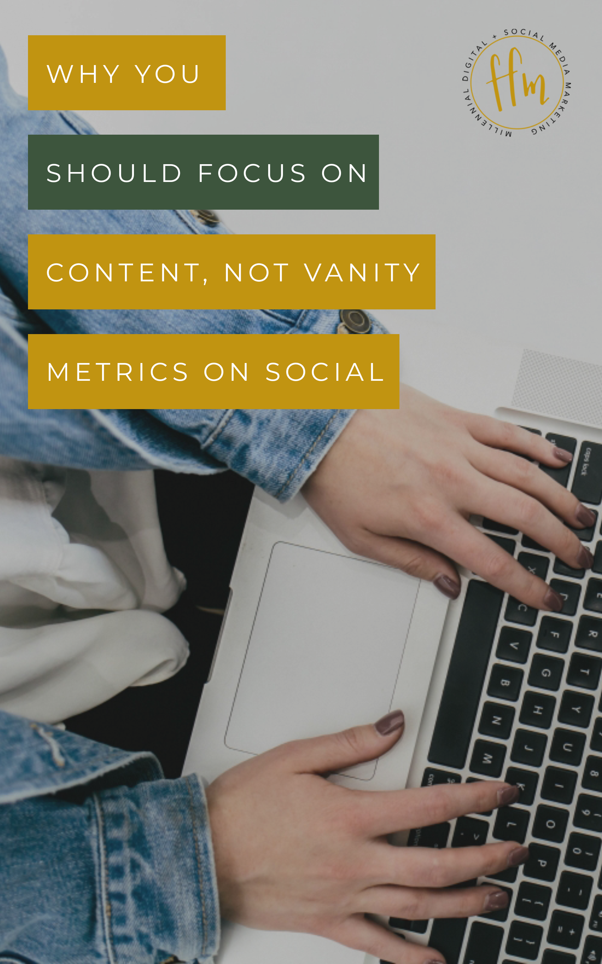 Why You Should Focus on Content, Not Vanity Metrics