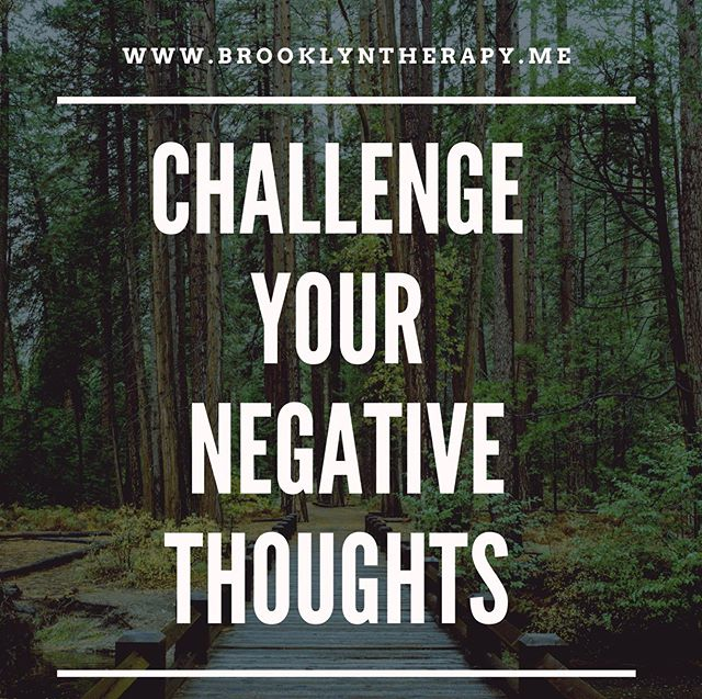 New blog post! Check it out~ link in bio! Freebie pdf download of how to tackle and challenge your negative thoughts in 3 steps. #brooklyntherapy #anxiety #mentalhealth #therapy #negativethoughts #goodbyenegativethoughts #winning #cbt #therapymumbojumbo #therapy4runners #runforanxiety