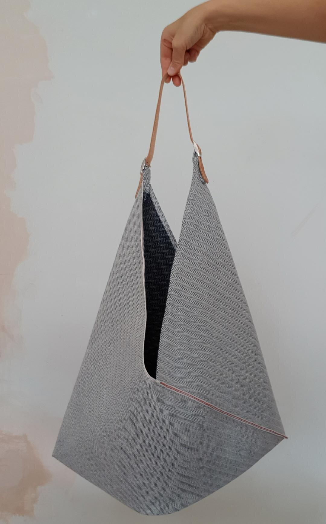 Azuma Fukuro bag Japanese cotton imported from the Japan.