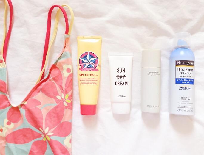 Summer Skincare Rules - Suncreen