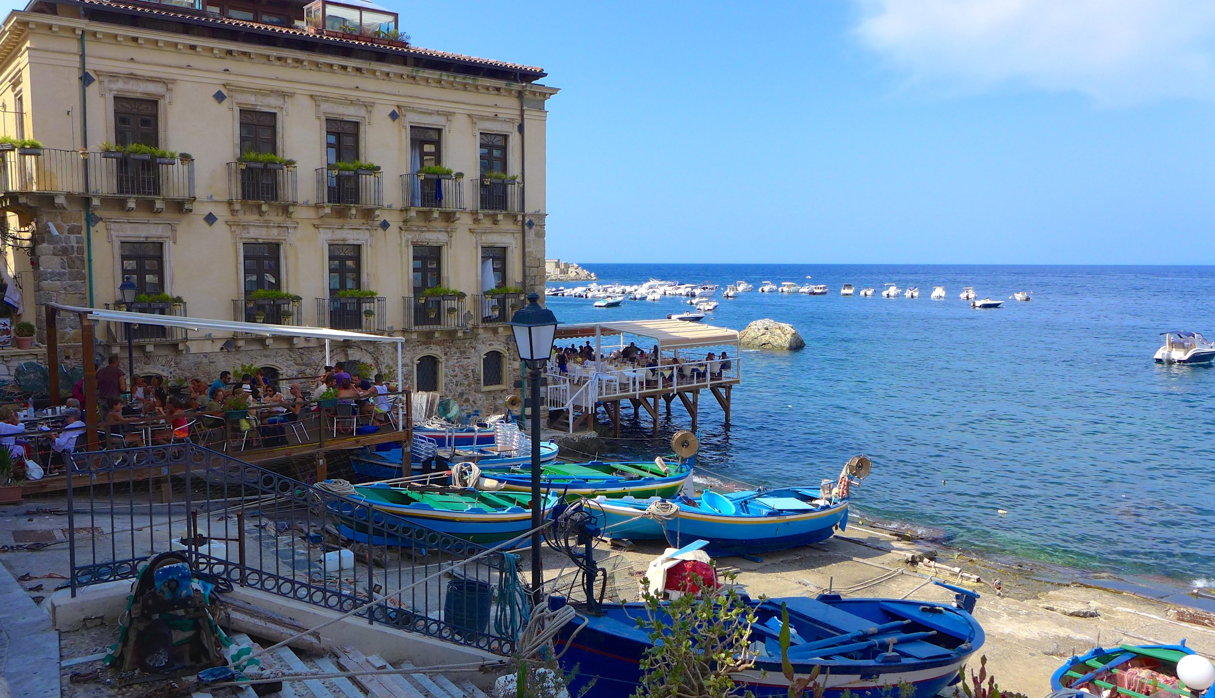 Scilla's Chianalea district is a beautiful place to spend the day.